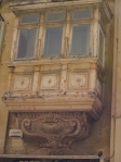 Typical balcony of Valletta, Malta. Image c/o V. Leeming 2015.